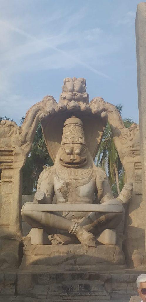 Ugra Narasimha Tempel in Hampi