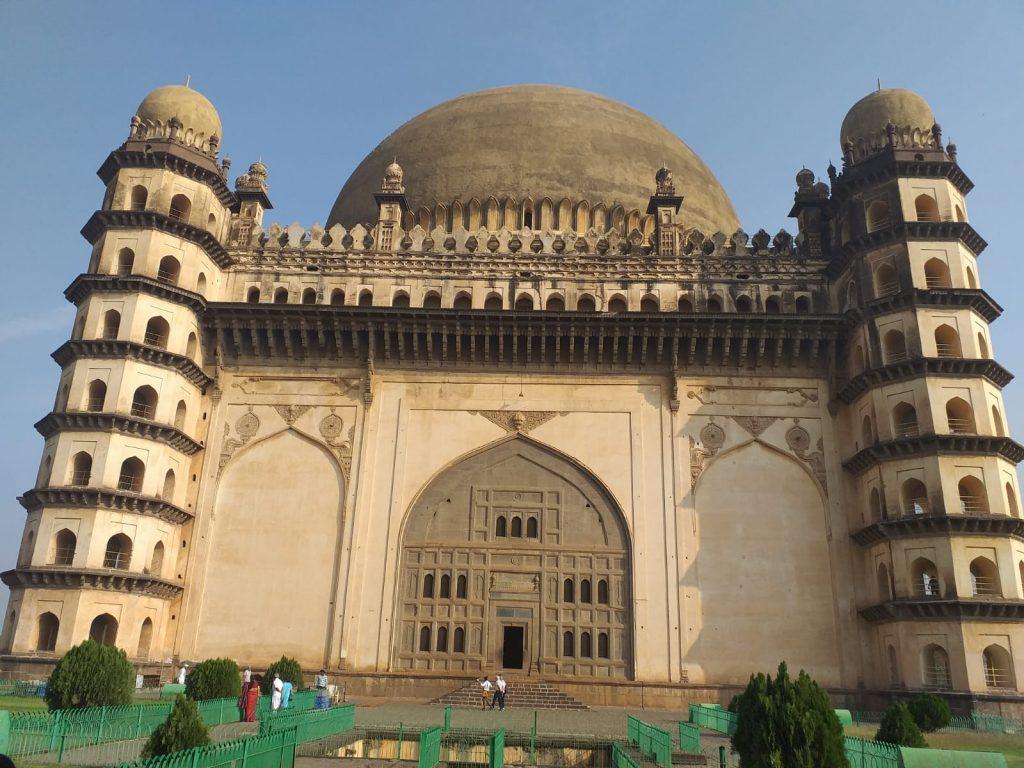 Gol Gumbaz, ein muslimisches Grabmal aus dem 17. Jahrhundert